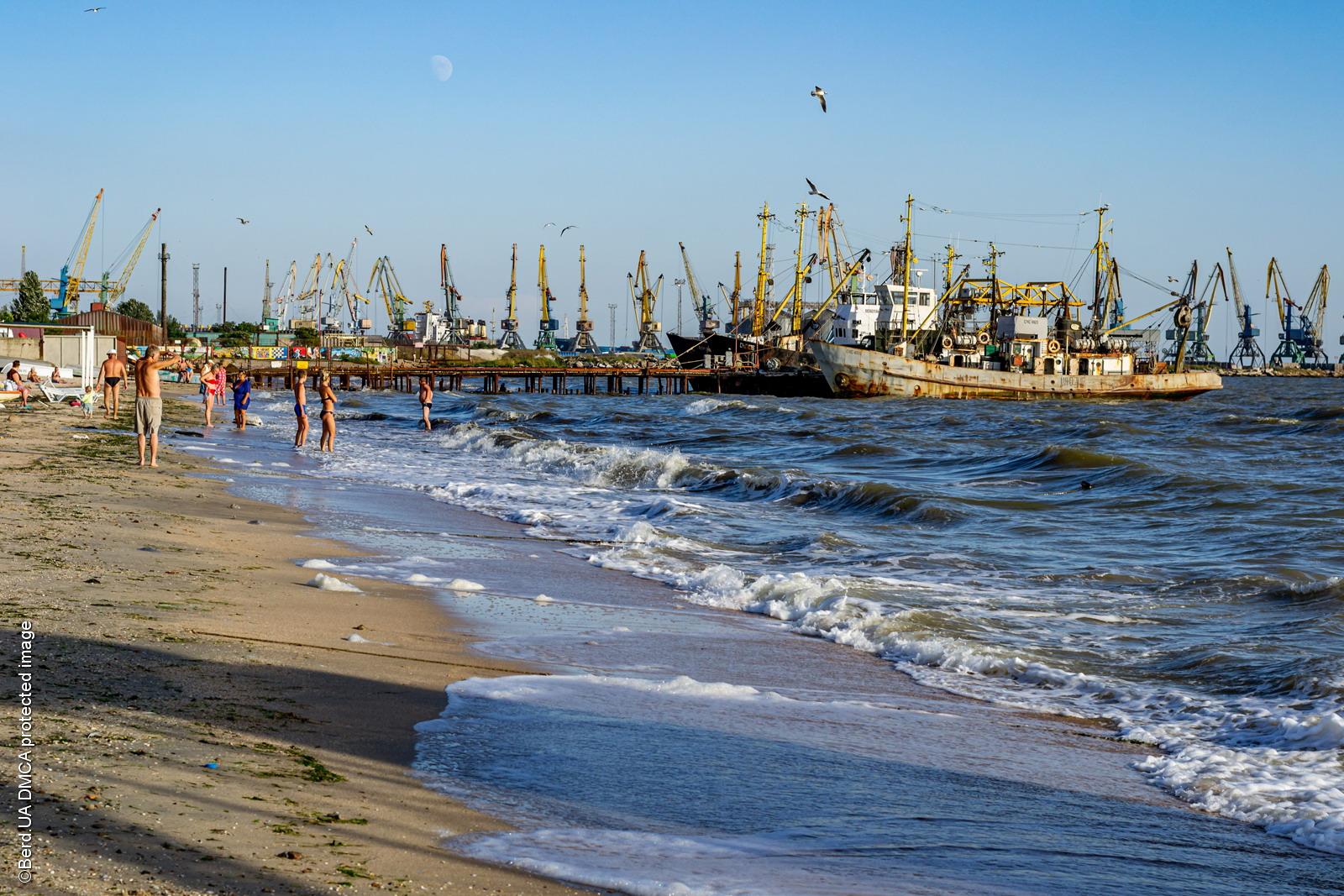 Пляж «Лиски-1» в Бердянске