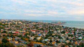 Поворотная камера: порт и панорама города — 25 точек