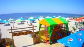 АКЗ — пляж и море с кафе «Малибу»