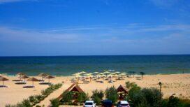 Пляж отеля «Амальтея» на Ближней косе