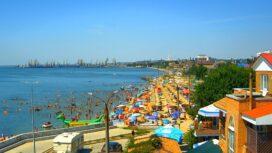 Слободка — Третий пляж, набережная и порт