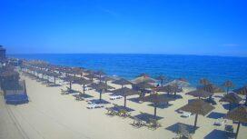 «Соломенный» пляж на Ближней косе