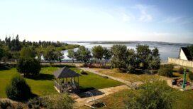 Бердянский залив и остров Малый Дзендзик