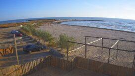 Пляж АКЗ — море и третья дамба